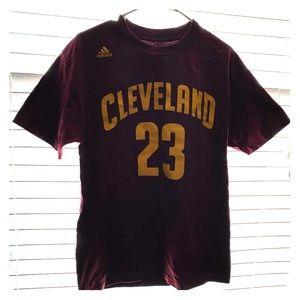 Adidas basketball shirt.